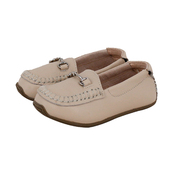 Children's Loafers in Cream