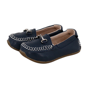 Navy Loafers - Size 20