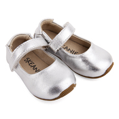 Mary-Jane Shoes Silver