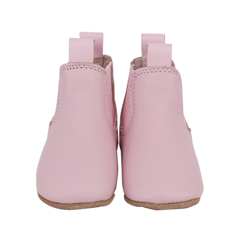 NEW-SKEANIE-Pre-Walker-Leather-Riding-Boots-Pink-0-to-2-years thumbnail 5