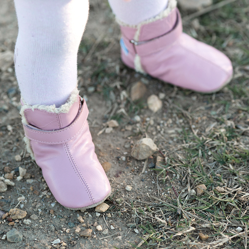 NEW-SKEANIE-Pre-walker-Baby-amp-Toddler-SNUG-Boots-Pink-0-to-2-years thumbnail 6