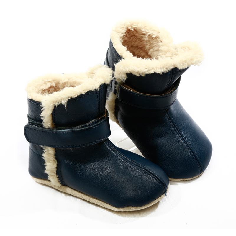 NEW-SKEANIE-Pre-walker-Baby-amp-Toddler-SNUG-Boots-Navy-0-to-2-years thumbnail 5