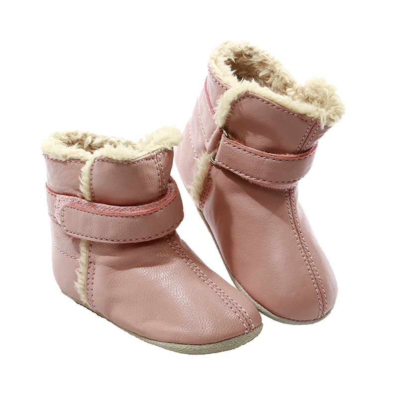 NEW-SKEANIE-Pre-walker-Baby-amp-Toddler-SNUG-Boots-Pink-0-to-2-years thumbnail 5