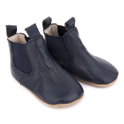 Pre-Walker Leather Riding Boots Navy