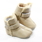 Pre-walker Baby & Toddler SNUG Boots Cream