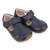 Toddler Leather Sunday Sandals Navy