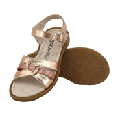Kids LEXI Sandals in Rose Gold