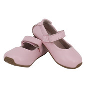 Kids Leather Mary Jane Pink