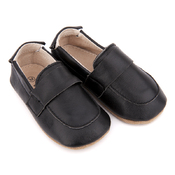 Pre-walker Leather Loafers Black