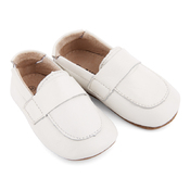Pre-walker Leather Loafers White