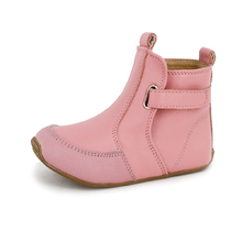Toddler & Kids Leather Cambridge Boots Pink